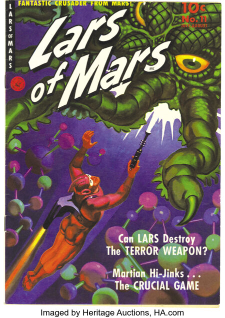 Lars of Mars #11 Mile High pedigree (Ziff-Davis, 1951) Condition: NM. Murphy Anderson handled the art chores on the title ch...