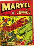 Golden Age (1938-1955):Superhero, Marvel Mystery Comics 132-Page Issue - Variant Edition (Timely, 1943) Condition: VG+. More than a rarity, this is the vari...