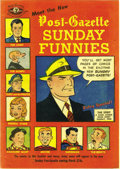 Golden Age (1938-1955):Miscellaneous, Meet the New Post-Gazette Sunday Funnies #nn (Pittsburgh Post-Gazette, 1949) Condition: VF. Superman, Archie, and Dick Tracy...