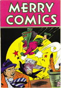 "Golden Age (1938-1955):Miscellaneous, Merry Comics #nn (Carlton Publishing, 1945) Condition: NM+. This issue, a Gerber ""7,"" is published by Carlton, not to be con..."