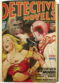 Pulps:Detective, Detective Novel Magazine Bound Volumes Group (Standard, 1940-51).This group consists of eight volumes containing issues of ...(Total: 8 Items)