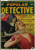 Pulps:Detective, Popular/Exciting/Thrilling Detective Bound Volumes Group (Standard,1934-45). These six volumes contain detective pulps whic... (Total:6 Items)