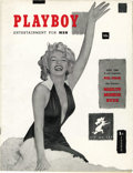 "Magazines:Miscellaneous, Playboy #1 (HMH Publishing, 1953) Condition: FN+. The firstgroundbreaking issue of the definitive ""Entertainment For Men"" m..."