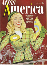 Miss America Magazine V1#3 Mile High pedigree (Timely, 1944) Condition: NM-. These comics are delightful, and we almost...