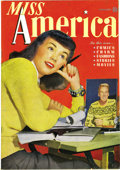 Golden Age (1938-1955):Non-Fiction, Miss America Magazine V1#4 Mile High pedigree (Timely, 1945)Condition: NM. As a rule, the teenage girls who bought these is...
