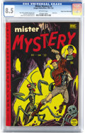 Golden Age (1938-1955):Horror, Mister Mystery #3 Mile High pedigree (Aragon Magazines, Inc., 1951)CGC VF+ 8.5 Off-white pages. This pre-Code book has a sk...