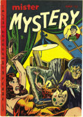 Golden Age (1938-1955):Horror, Mister Mystery #4 (Aragon Magazines, Inc., 1952) Condition: VF-.The striking bondage cover is enough to attract plenty of i...