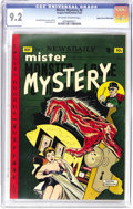 Golden Age (1938-1955):Horror, Mister Mystery #5 Mile High pedigree (Aragon Magazines, Inc., 1952)CGC NM- 9.2 Off-white to white pages. Rudy Palais contri...