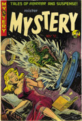Golden Age (1938-1955):Horror, Mister Mystery #8 Mile High pedigree (Aragon Magazines, Inc., 1952)Condition: VF-. This is the nicest copy we've seen of th...