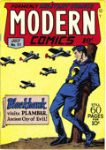 Golden Age (1938-1955):War, Modern Comics #51 Mile High pedigree (Quality, 1946) Condition: NM.This issue has an Al Bryant cover and Reed Crandall inte...