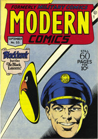 Modern Comics #53 Mile High pedigree (Quality, 1946) Condition: NM. Torchy by Bill Ward makes her Modern debut here. Thi...