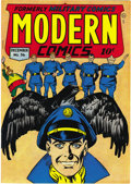 Golden Age (1938-1955):War, Modern Comics #56 Mile High pedigree (Quality, 1946) Condition: NM. Holding an Edgar Church copy (very carefully) is a t...