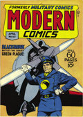 Golden Age (1938-1955):War, Modern Comics #60 Mile High pedigree (Quality, 1947) Condition:NM+. This is a wonderfully supple copy, and note that the co...
