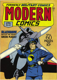 Modern Comics #60 Mile High pedigree (Quality, 1947) Condition: NM+. This is a wonderfully supple copy, and note that th...