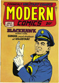 Golden Age (1938-1955):War, Modern Comics #63 Mile High pedigree (Quality, 1947) Condition: NM+. Bill Ward's Torchy joins Blackhawk and a host of others...