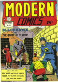 Golden Age (1938-1955):Adventure, Modern Comics #101 Mile High pedigree (Quality, 1950) Condition: NM. This is a lovely, super-supple copy of the second-to-la...