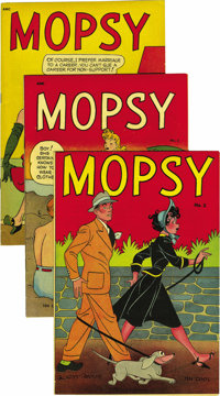 Mopsy and Related Titles Mile High pedigree Group (St. John and Charlton, 1948-55). The Edgar Church copies of Mopsy # 1...
