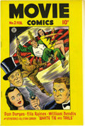Movie Comics #2 Mile High pedigree (Fiction House, 1947) Condition: VF+. Artist Matt Baker chronicled waitress and would...