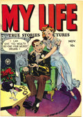 """Golden Age (1938-1955):Romance, My Life #5 Mile High pedigree (Fox Features Syndicate, 1948)Condition: NM-. Jack Kamen drew the story """"I Almost Didn't Marr..."""