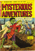Golden Age (1938-1955):Horror, Mysterious Adventures #4 Mile High pedigree (Story Comics, 1951)Condition: NM-. This pre-Code horror book has some EC-like ...
