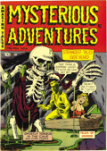 Golden Age (1938-1955):Horror, Mysterious Adventures #6 Mile High pedigree (Story Comics, 1952)Condition: NM-. Creepy art by Lou Cameron and A. C. Holling...