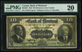 Canadian Currency, Montreal, PQ- Bank of Montreal $10 Jan. 2, 1923 Ch. # 505-56-04.....
