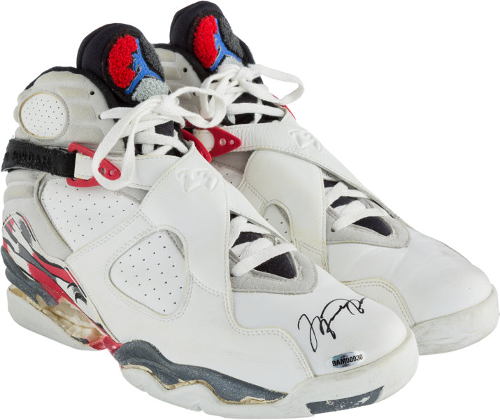 b32950f6a01 ... Basketball Collectibles:Others, 1992-93 Michael Jordan Game Worn &  Signed Air ...