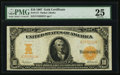 Large Size:Gold Certificates, Fr. 1171 $10 1907 Gold Certificate PMG Very Fine 25.. ...
