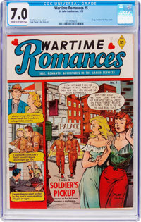 Wartime Romances #5 (St. John, 1952) CGC FN/VF 7.0 Cream to off-white pages
