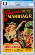 Golden Age (1938-1955):Romance, Romantic Marriage #3 Mile High Pedigree (Ziff-Davis, 1950) CGC NM-9.2 Off-white to white pages....