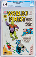 Silver Age (1956-1969):Superhero, World's Finest Comics #116 (DC, 1961) CGC NM 9.4 White pages....