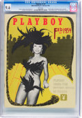 Magazines:Miscellaneous, Playboy #3 (HMH Publishing, 1954) CGC NM+ 9.6 White pages....