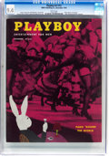 Magazines:Vintage, Playboy #12 (HMH Publishing, 1954) CGC NM 9.4 White pages....