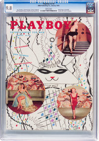 Playboy V2#2 (HMH Publishing, 1955) CGC NM/MT 9.8 White pages