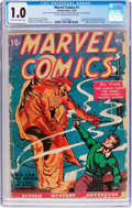Golden Age (1938-1955):Superhero, Marvel Comics #1 October Copy (Timely, 1939) CGC FR 1.0 Off-white to white pages....
