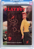 Magazines:Vintage, Playboy V2#11 (HMH Publishing, 1955) CGC NM 9.4 White pages....