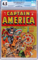 Captain America Comics #5 (Timely, 1941) CGC VG+ 4.5 Cream to off-white pages