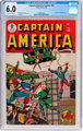 Captain America Comics #44 (Timely, 1945) CGC FN 6.0 Off-white to white pages