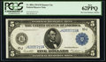 Fr. 883a $5 1914 Federal Reserve Note PCGS New 62PPQ