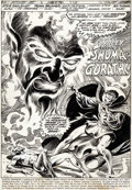 Original Comic Art:Splash Pages, Frank Brunner and Neal Adams Studios Marvel Premiere #10Splash Page 1 Original Art (Marvel, 1973)....