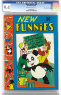 Golden Age (1938-1955):Cartoon Character, New Funnies #66 Mile High pedigree (Dell, 1942) CGC NM 9.4 Off-white to white pages. Just the second issue of the title, thi...