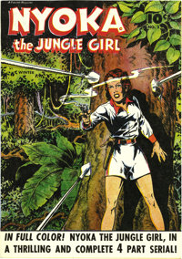 Nyoka the Jungle Girl #2 Mile High pedigree (Fawcett, 1945) Condition: NM+. This was the first issue under this title (f...