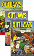 Golden Age (1938-1955):Western, Outlaws #2-7 Group - Mile High pedigree (D.S. Publishing, 1948-49).As you can see by paging through this catalog, D. S. Pub... (Total:6 Comic Books)