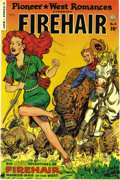 Golden Age (1938-1955):Western, Pioneer West Romances #5 Mile High pedigree (Fiction House, 1950)Condition: NM-. Firehair starred in this brief series, whi...