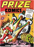 Prize Comics #3 Mile High pedigree (Prize, 1940) Condition: VF. We had never before seen this issue here at Heritage! Th...