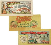 Promotional Miniature Comics Group (Various Publishers, 1948-1976) Condition: VF+. If you collect these approximately 3...