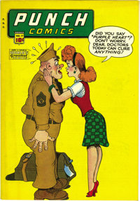 Punch Comics #17 Mile High pedigree (Chesler, 1946) Condition: VF/NM. Here's one of the few early issues of this title t...