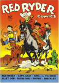 Golden Age (1938-1955):Western, Red Ryder Comics #11 (Dell, 1943) Condition: NM+. This is thenicest copy of this issue we've seen, and by quite a margin! F...