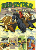 Golden Age (1938-1955):Western, Red Ryder Comics #16 (Dell, 1943) Condition: VF/NM. Fred Harman art. Alley Oop backup feature. Overstreet 2006 VF/NM 9.0 val...