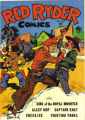 Golden Age (1938-1955):Western, Red Ryder Comics #25 (Dell, 1945) Condition: NM+. This copy's near-flawless cover is sure to please! Overstreet 2006 NM- 9.2...
